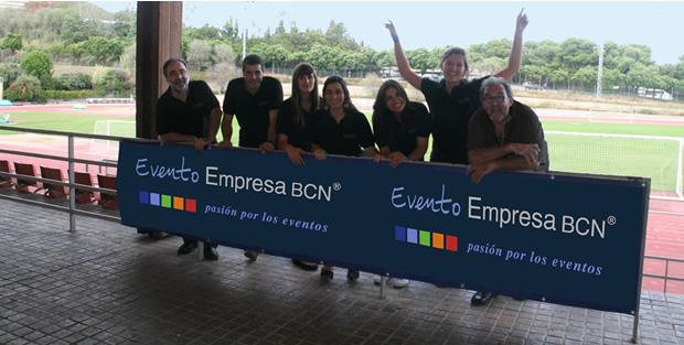 Parte del equipo de Evento Empresa BCN