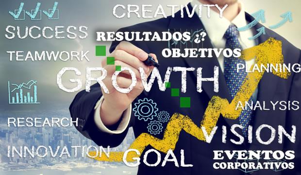 Tener resultados en eventos corporativos