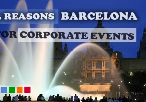 Barcelona, the idyllic place for your corporate events