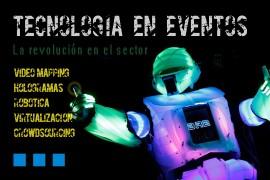 La tecnología revoluciona el sector de los eventos