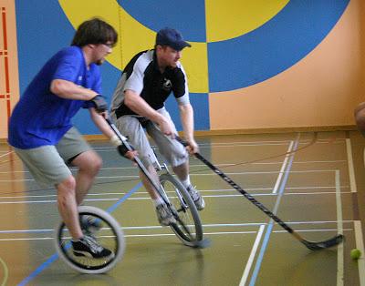 hockey en monociclo