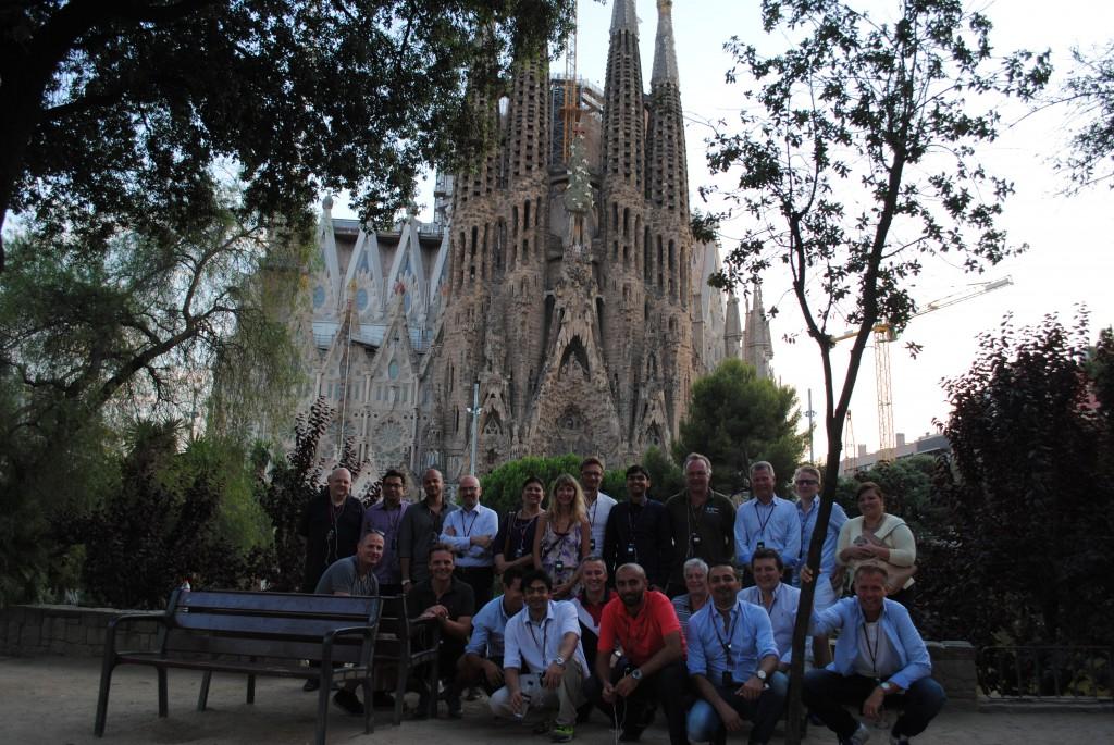 Sagrada Familia_group photo