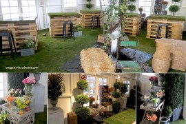 Ideas para reutilizar la decoración de los eventos