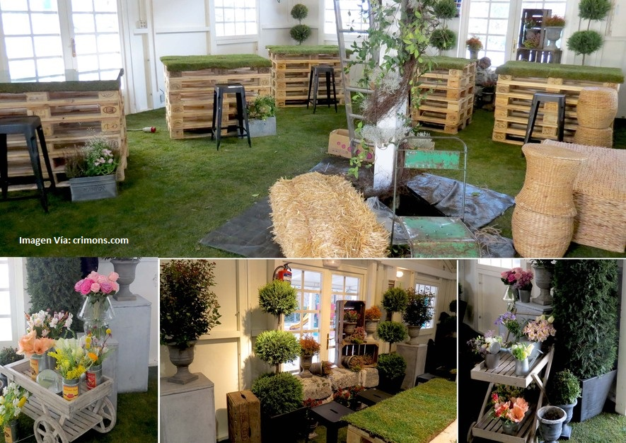 Decoraciones rusticas para buffets ideas para la - Ideas rusticas para decorar ...