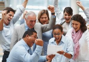 La motivación del equipo aumenta la productividad en la empresa