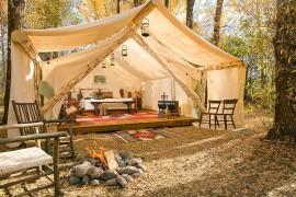 El Glamping, el nuevo concepto de camping para eventos