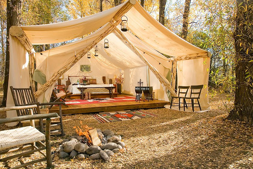 Glamping: el nuevo concepto de camping para eventos
