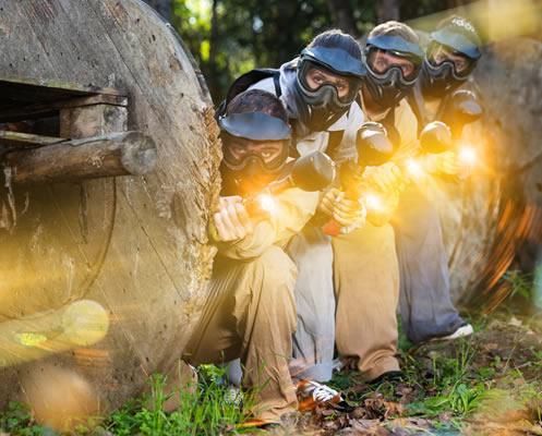 Actividades de team building para empresas. Laser combat.