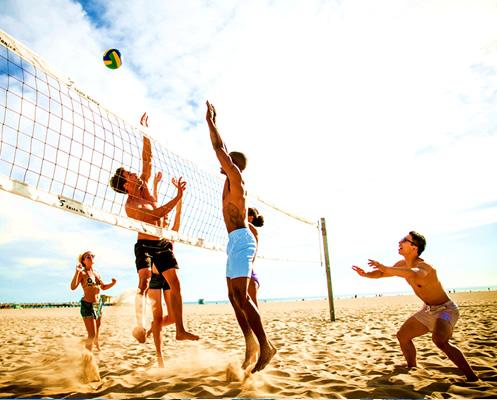Organizacion de volley playa en Barcelona