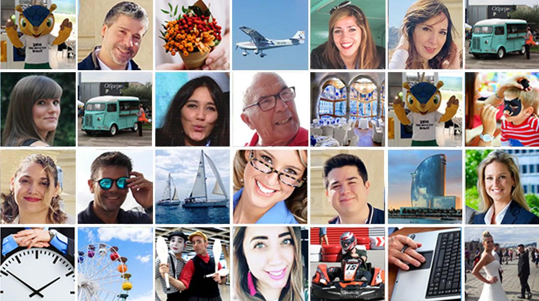 El equipo en la agencia de eventos barcelona - Evento Empresa