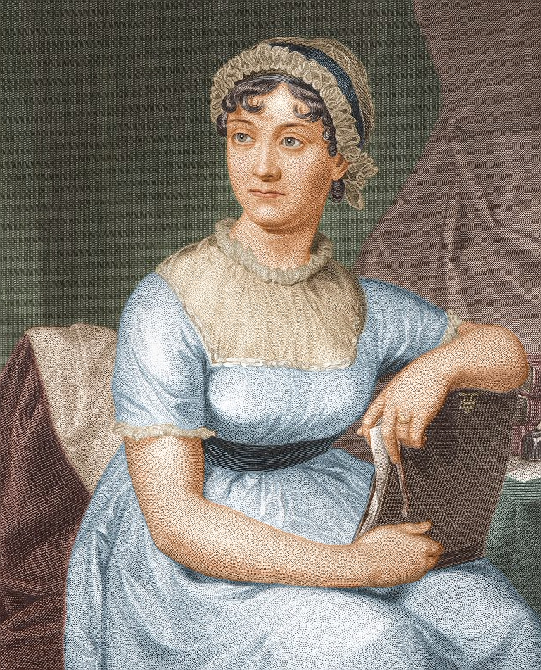 Jane Austen -12 imágenes de mujeres que han marcado la historia