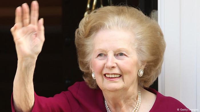 Margaret Thatcher-12 imágenes de mujeres que han marcado la historia